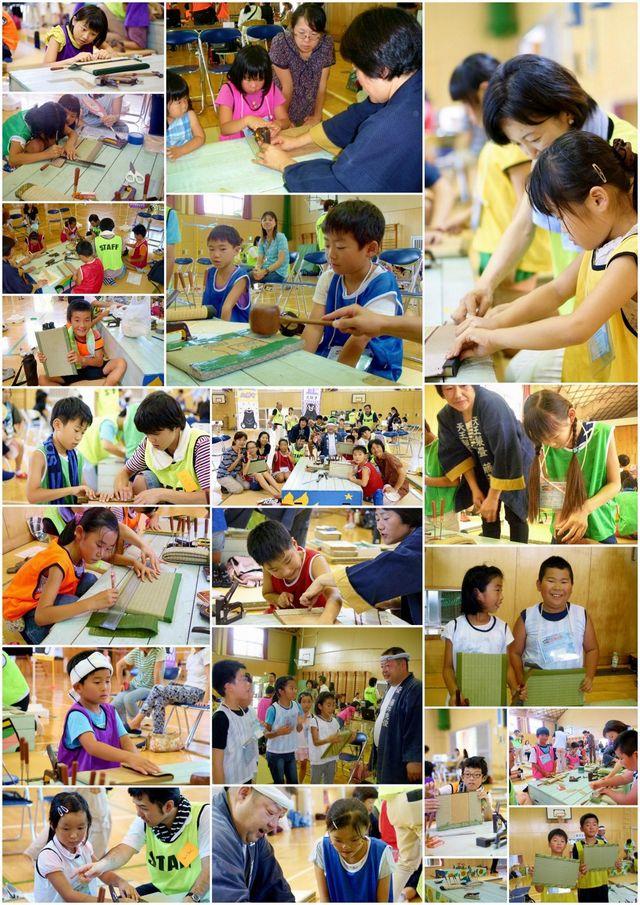 2016年の天王製畳の様子