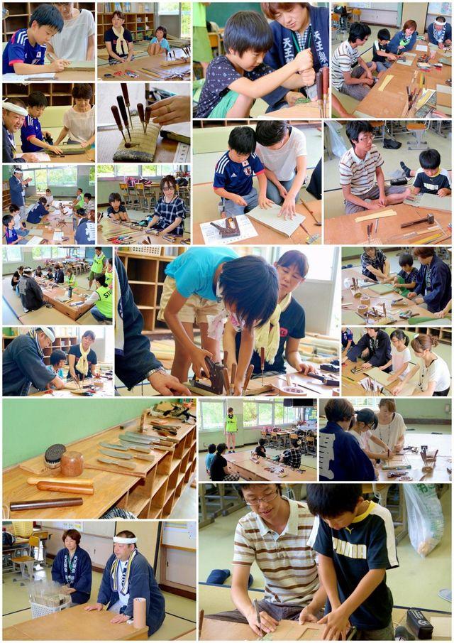 2015年の天王製畳の様子